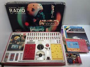 Ancien Jeu Scientifique GEGE Radio + CEJI Morse + Magasine Electroniques + Boite