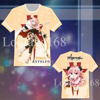 Fate//Zero Fate Zero Rider Alexander Conquer Casual T-shirt Tee Top Cosplay Gift