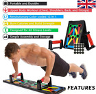 12 in1 Push Up Rack Board Fitness Workout Train Gym Muscle Exercise Pushup Stand