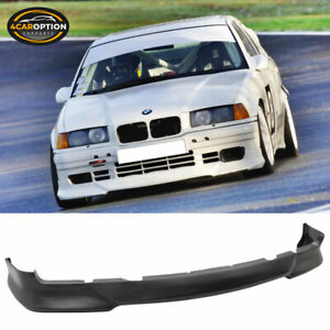 Fits 92-98 BMW E36 3 Series Msport Style Front Bumper Lip - PU