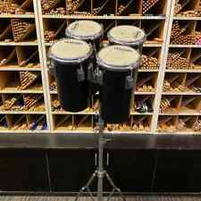New listing Vintage set of Tama Octobans red label high set made in Japan with New Stand