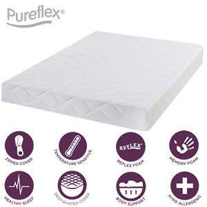 Full foam mattress 6 inch - 3ft single, 4ft6 double, 5ft king, 6ft - Memory
