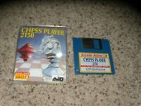 """Chess Player 2150 Commodore Amiga on 3.5"""" disk with case and insert"""