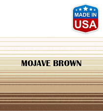 """14' RV Awning Replacement Fabric for A&E, Dometic (13'3"""") Mojave Brown"""
