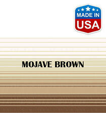 "13' RV Awning Replacement Fabric for A&E, Dometic (12'3"") Mojave Brown"