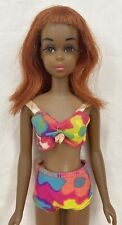 1967 AA BLACK FRANCIE Barbie Doll - Rare HTF African American 1st Ed. Red Hair