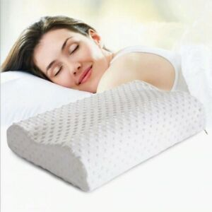 Memory Foam Pillow Super Soft White Washable Orthopedic Baby Adult Neck Support
