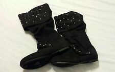 Paris Blues Women Boots Shoes Sz 5 Black