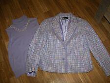 Women's Requirements Blazer Jacket  & Sweater Top - 14P