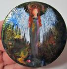 Guardian Angel Painting Magnet Original Art by Rain Crow