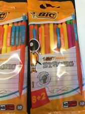 BIC MATIC STRONG 0.9MM HB MECHANICAL PENCILS *RETAIL SEALED PACK OF 10 PENCILS