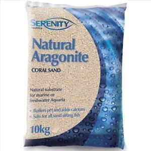 Serenity Aragonite Coral Sand 10Kg 1-2Mm