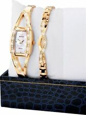 Gold Plated Case Mechanical (Hand-winding) Rectangle Watches