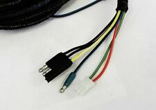 New! 1966 Ford Mustang Tail light wire harness with correct boots Wire Loop Kit