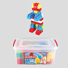 Large Building Bricks Brio Blocks In A Storage Box 40 Pcs for Toddlers 18months+