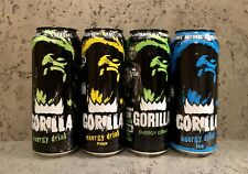 🍊Energy Drink Cans Set, GORILLA, Russia 🇷🇺 2016-20's, 500ml