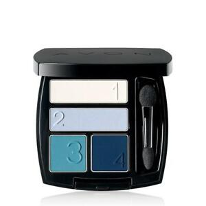 Avon True Color Matte Finish Eyeshadow Quad TRANQUILITY Sulfate Free Vegan