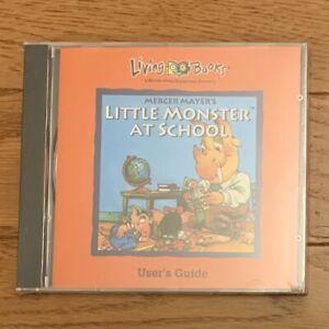 Little Monster at school (Living books) PC GAME. CD-ROM in Original Sealed Case