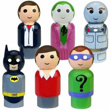 BATMAN CLASSIC TV SERIES PIN MATE FIGURE LOT BRUCE WAYNE DICK GRAYSON MOSC 2017