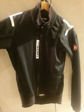 Castelli Alpha Ros Cycling Jacket XL Rosso Corsa Black
