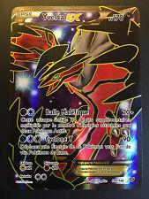 Carte Pokemon YVELTAL 144/146 Ultra Rare Full Art EX XY Française NEUF