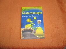 Grüne Gentechnologie von Renate Sommer, Taschenbuch 2004