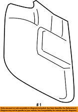 Lincoln FORD OEM 07-16 Navigator-Mud Flap Splash Guard 7L7Z16A550A