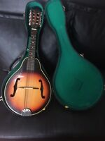 Mandolin Suzuki Limited Edition M 608 Nagoya Japan 1973 Whit Case Free Shipping