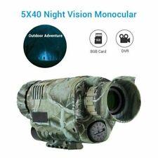 5 x 40 Digital Infrarot Nachtsichtgerät 200m Jagdkamera Videorecorder Sport