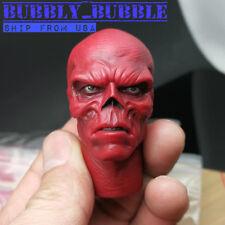 1/6 Hugo Weaving Red Skull Head Sculpt For Captain America Hot Toys Male Figure