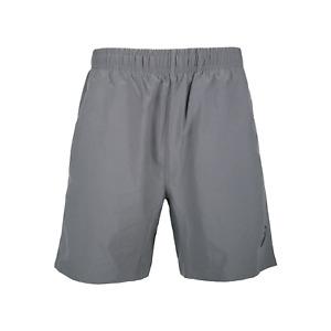 Asics Men's Running Shorts 7 Inch Sports Shorts - Shark Grey - New