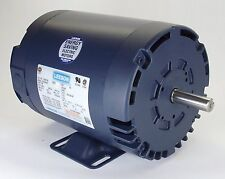 1HP 1140RPM 145T 3PH 208-230/460V ODP LEESON ELECTRIC MOTOR #121517