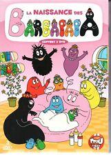 LA NAISSANCE DES BARBAPAPA   coffret 3 dvd  neuf  ref 190917410