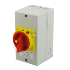 Latching AC 690V 32A 11KW 2 Position Cam Combination Changeover Switch