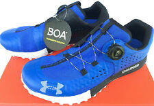 Under Armour UA Syncline 3021373-401 Fish Obstacle Trail Running Shoes Men's 11