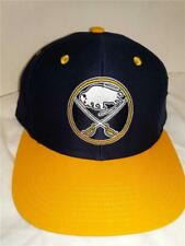 New Buffalo Sabres Mens Adult Size OSFA Flatbrim Snapback Reebok Fit Cap Hat