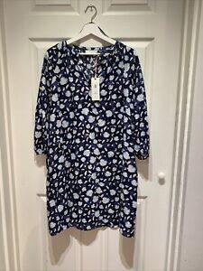 Weekend By John Lewis Cotton Floral Dress Uk12 BNWT RRP 69