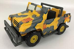 The Corps World Force Response Team CV-04 Jeep Vehicle Vintage 1994 Lanard Truck