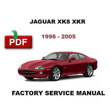 JAGUAR 1996 1997 1998 1999 2000 2001 2002 2003 2004 2005 XK8 XKR WORKSHOP MANUAL