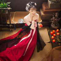 Women's Dress Ancient Costume Tops Skirt 2 Pcs Set Hanfu Suit Cosplay Chinese