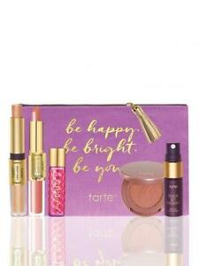 NIB TARTE Be Happy Be Bright Be You Discovery Set Lip Blush Fragrance Skin Mist