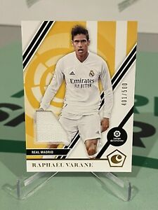 2020-21 Chronicles Soccer Raphael Varane Jersey Patch /500 - REAL MADRID