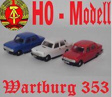 DDR Modell Wartburg 353 H0 VEB Modell-Konstrukt Herpa 022705-003 Brekina 27118