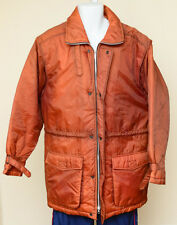 Men's Vintage Sears Outerwear M Jacket Orange