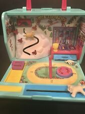 Vintage Pound Puppy Purry Paws Stadium Folding Playset Galoob Puppies Purries
