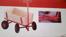Bollerwagen BUBI -Holz-Metal stabil 89 x 45 x 55 cm mit Feststellbremse Neu OVP