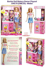 Barbie Doll Bakery Owner Playset - DNC70 (DMC35) - Mattel