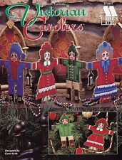 Victorian Carolers, Christmas Ornaments Annie's Plastic Canvas Pattern 879607