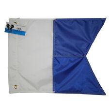 Nylon Alpha Flag, Slip on Style, 14x18