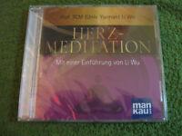 Hörbuch CD Herz-Meditation von Li Wu (2013) Bittentherapie Neu OVP